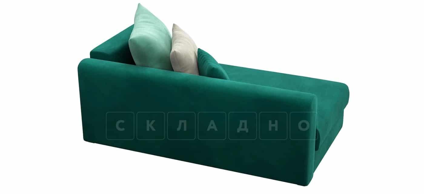 Детский диван Медисон изумрудный левый фото 4 | интернет-магазин Складно