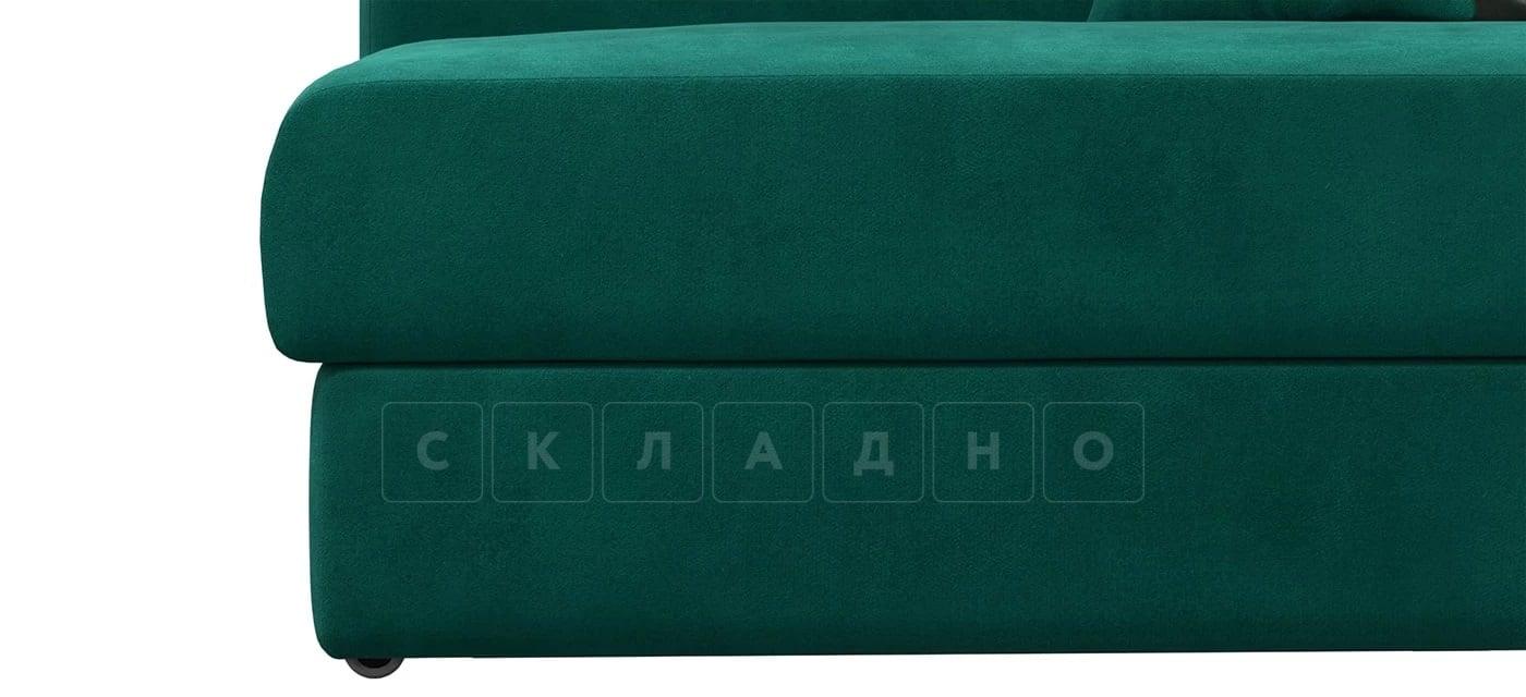 Детский диван Медисон изумрудный левый фото 5 | интернет-магазин Складно