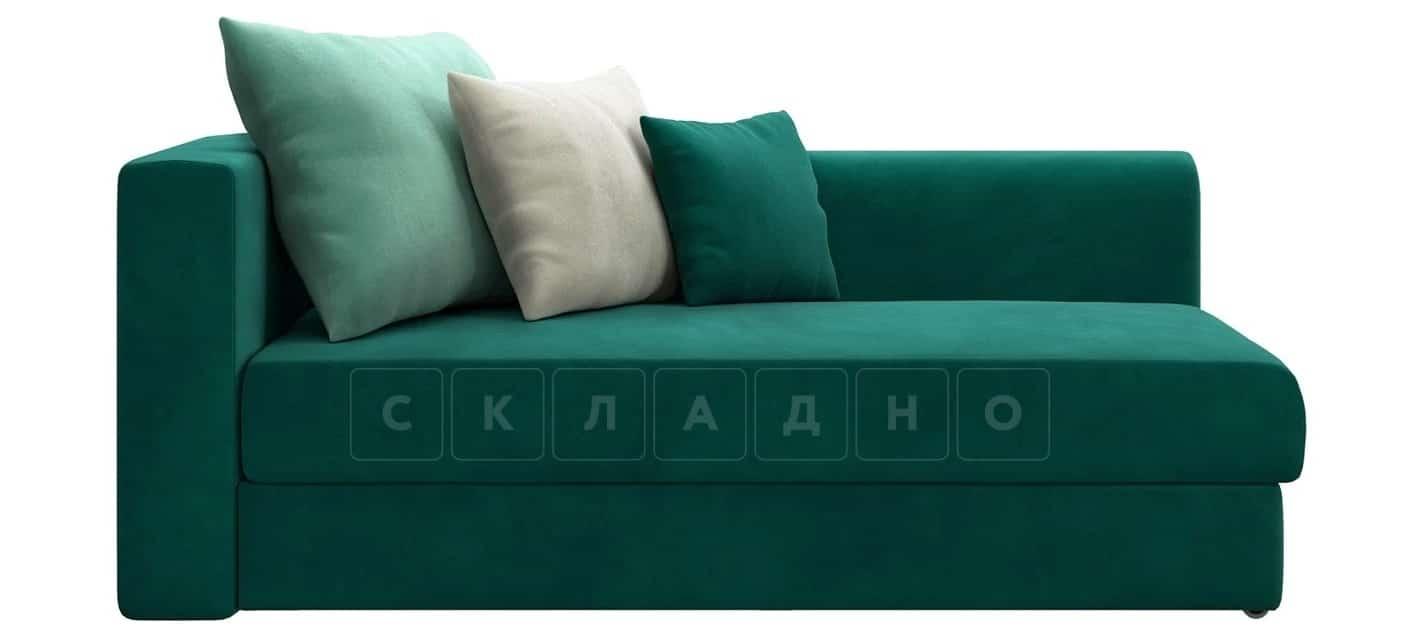 Детский диван Медисон изумрудный правый фото 3 | интернет-магазин Складно