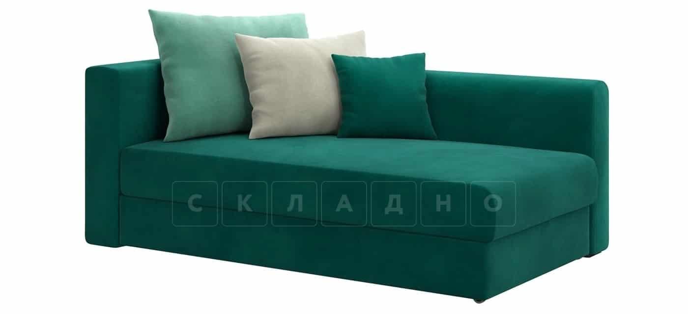 Детский диван Медисон изумрудный правый фото 1 | интернет-магазин Складно