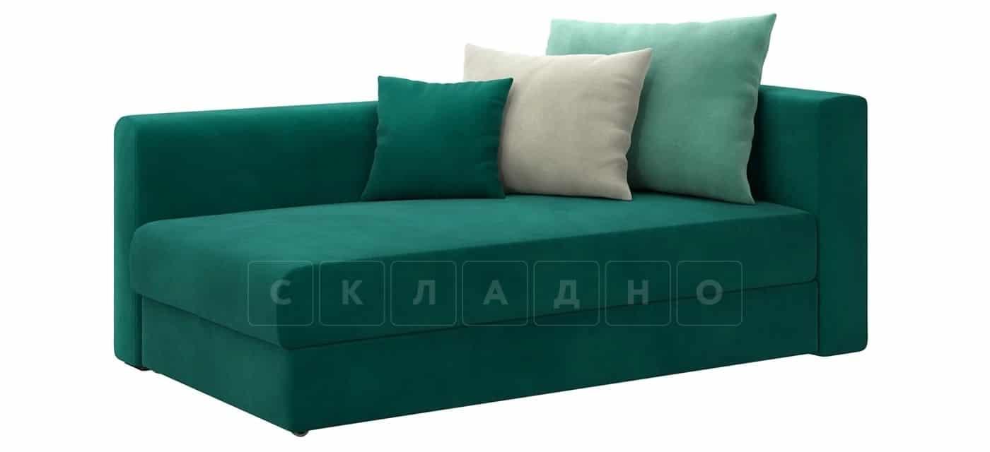 Детский диван Медисон изумрудный левый фото 1 | интернет-магазин Складно
