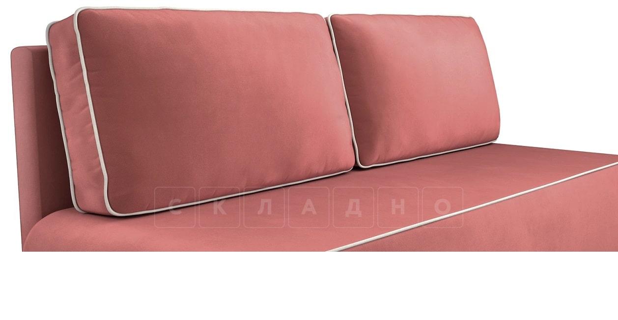 Диван еврокнижка Лаки пурпурный фото 5 | интернет-магазин Складно