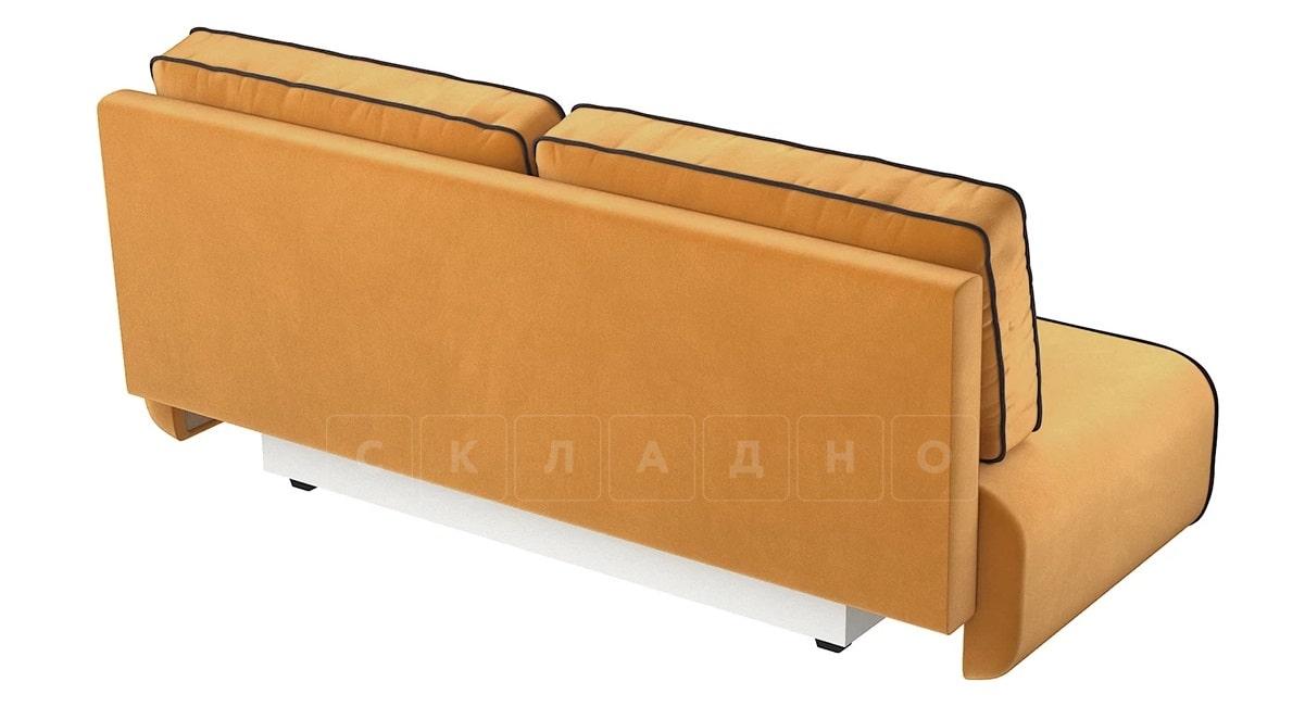 Диван еврокнижка Лаки желтый фото 3 | интернет-магазин Складно