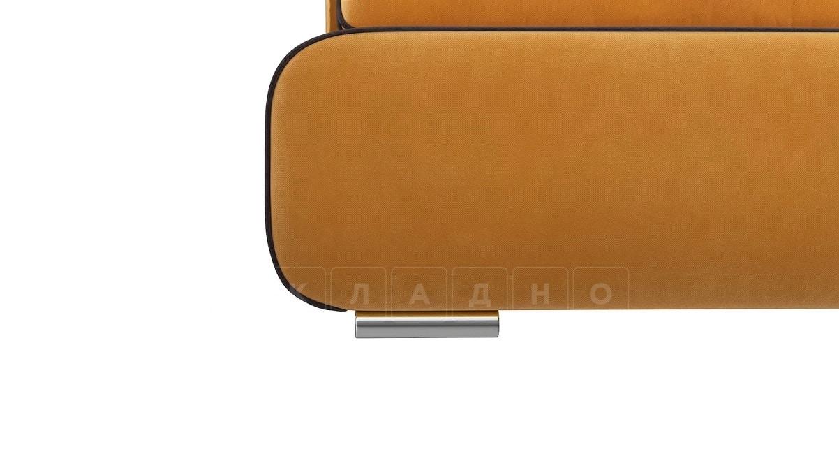 Диван еврокнижка Лаки желтый фото 5 | интернет-магазин Складно