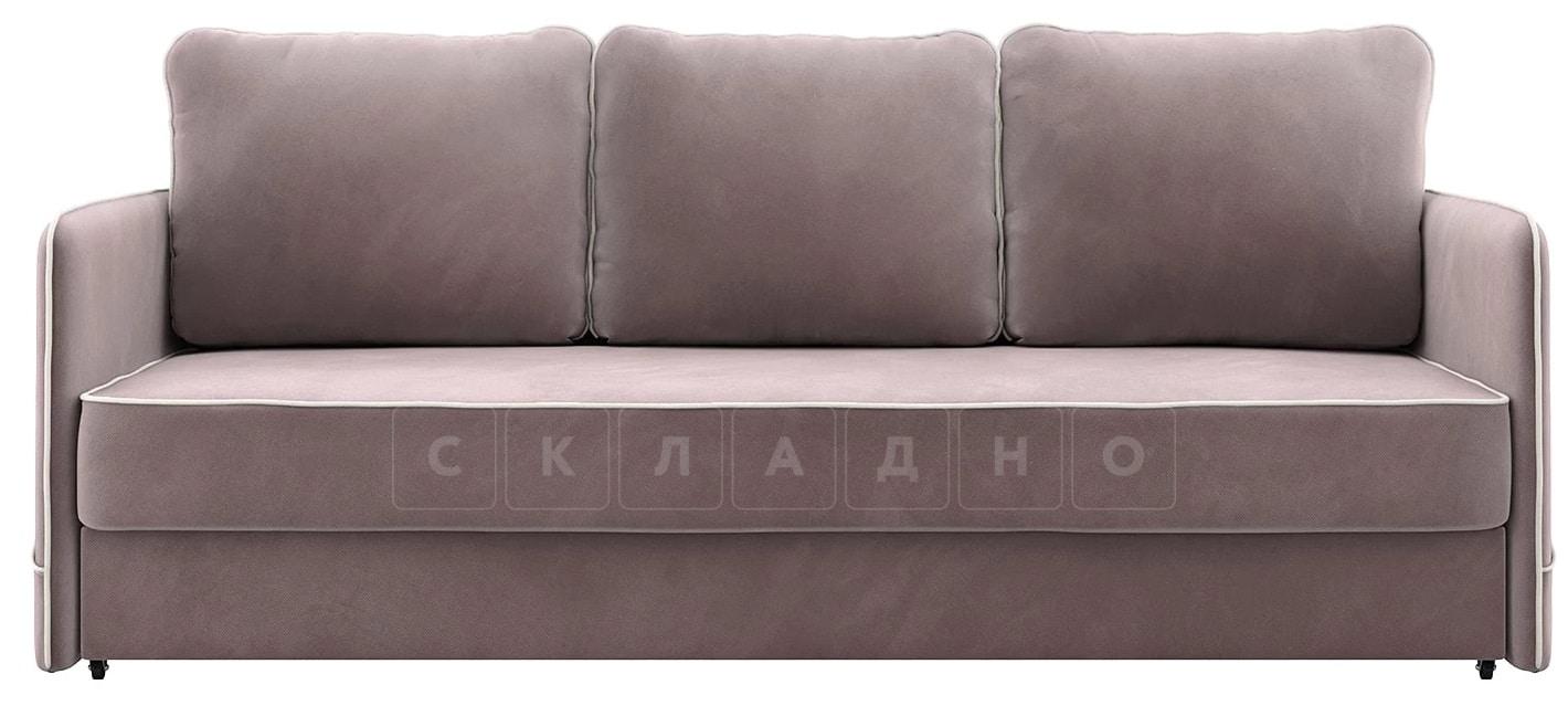 Диван с узкими подлокотниками Слим светло-розовый фото 3   интернет-магазин Складно