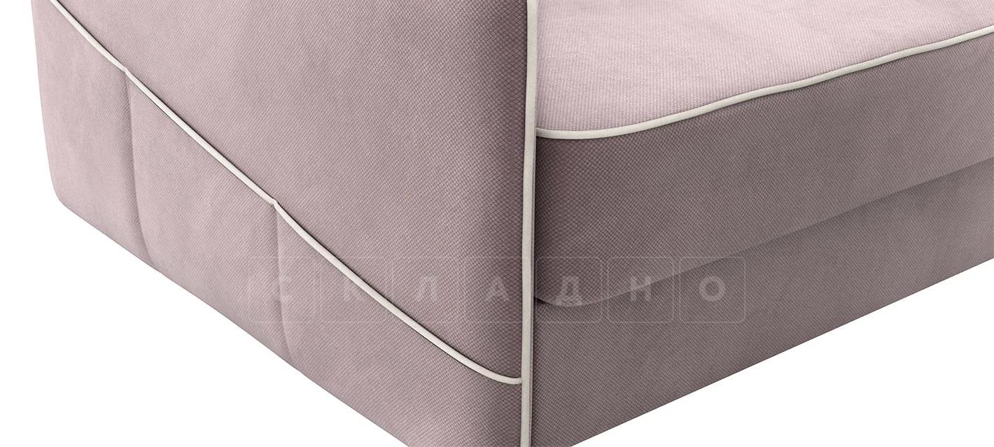Диван угловой Слим светло-розовый правый фото 6 | интернет-магазин Складно