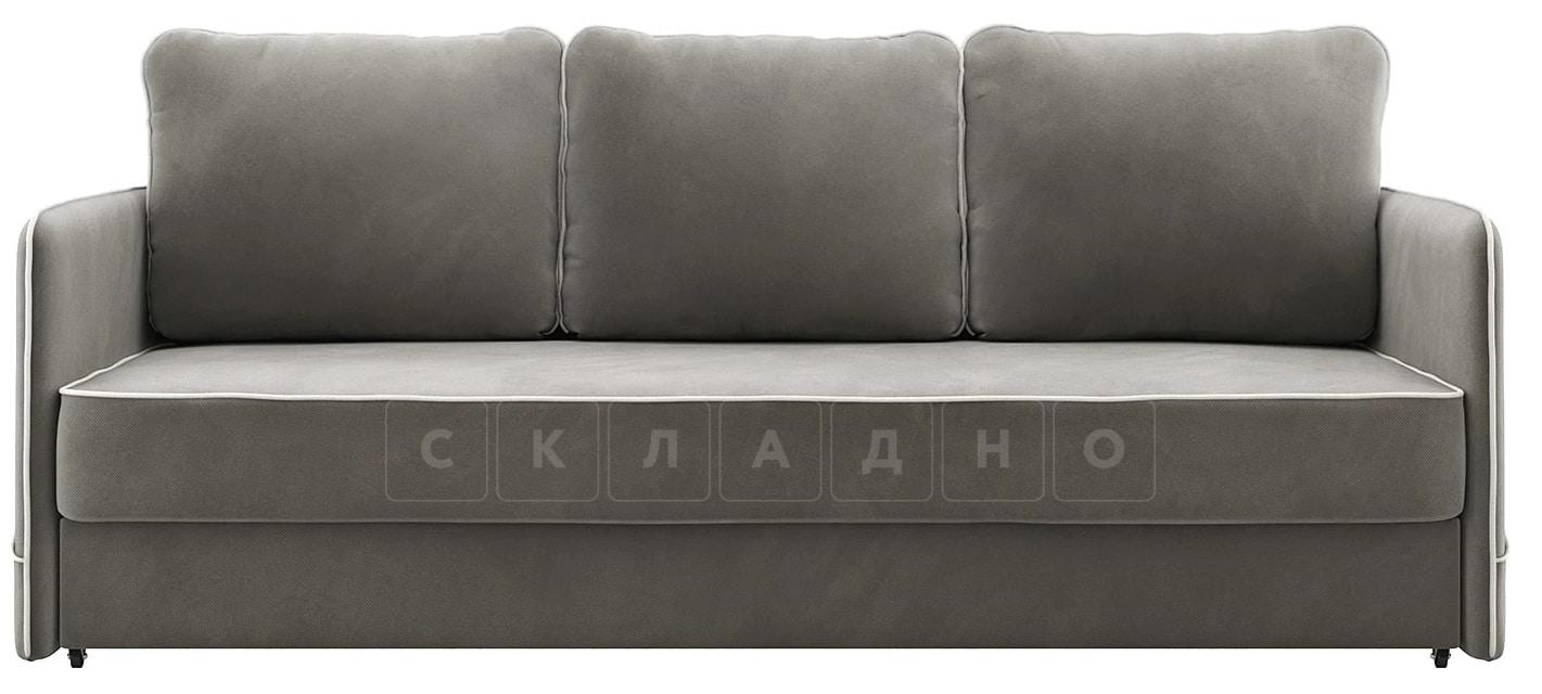 Диван с узкими подлокотниками Слим темно-серый фото 3 | интернет-магазин Складно