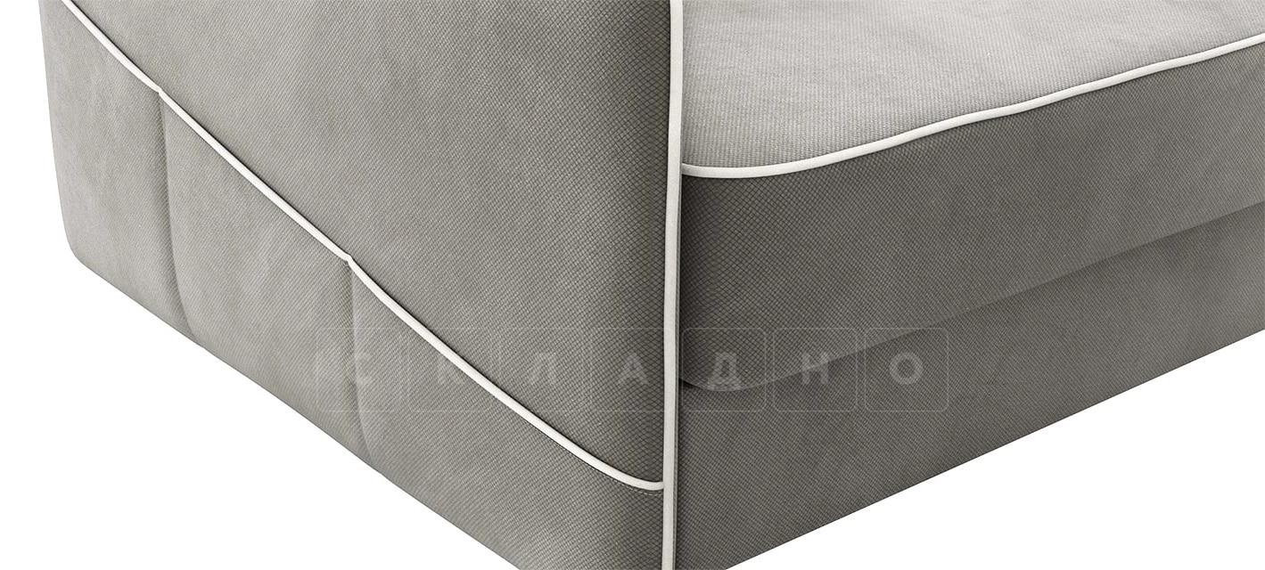 Диван с узкими подлокотниками Слим темно-серый фото 6 | интернет-магазин Складно