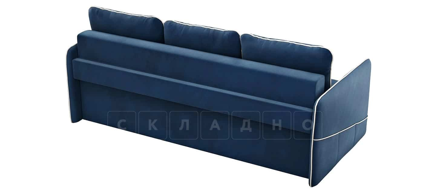 Диван с узкими подлокотниками Слим темно-синий фото 4   интернет-магазин Складно