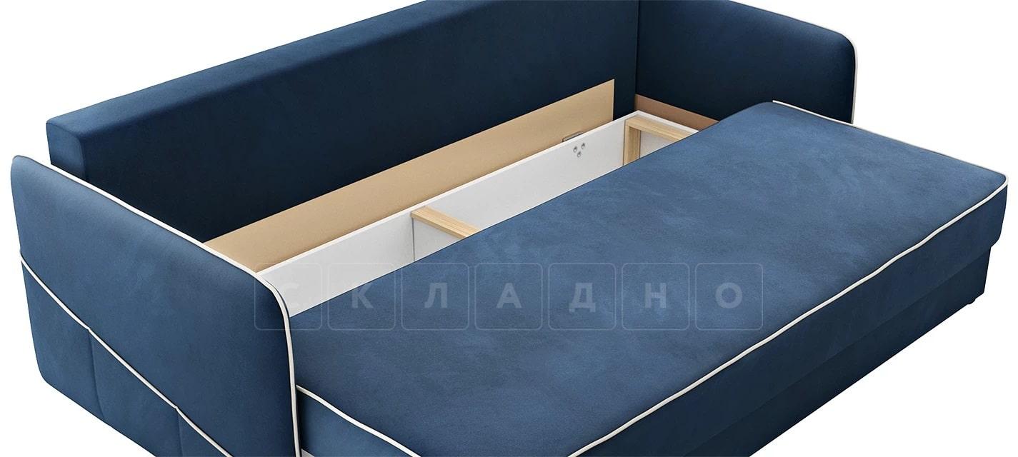 Диван с узкими подлокотниками Слим темно-синий фото 5   интернет-магазин Складно