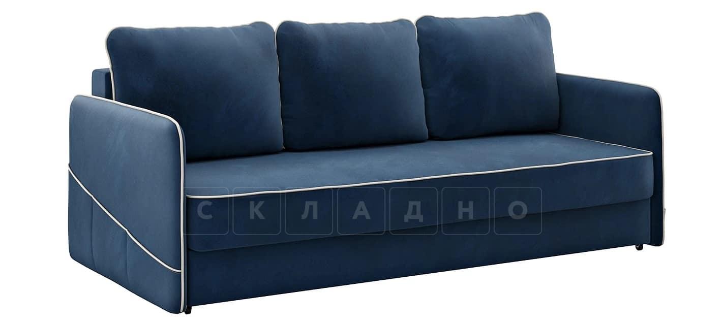 Диван с узкими подлокотниками Слим темно-синий фото 1   интернет-магазин Складно