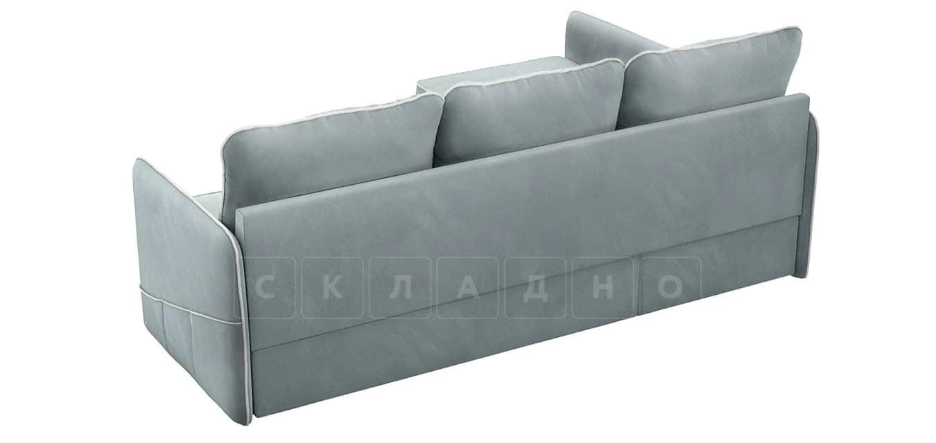 Диван угловой Слим серо-голубой левый фото 3 | интернет-магазин Складно