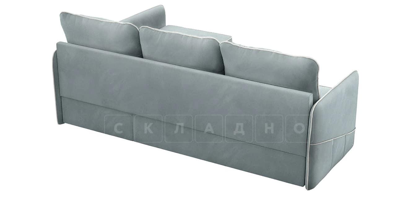 Диван угловой Слим серо-голубой правый фото 3 | интернет-магазин Складно