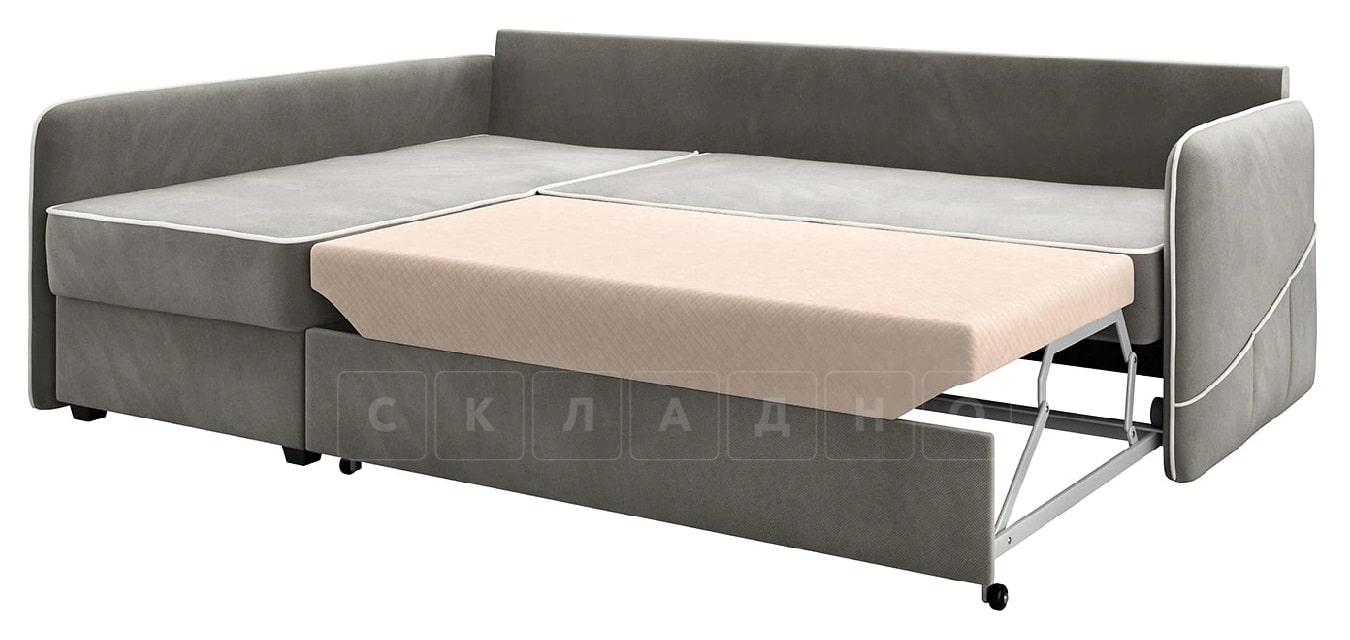 Диван угловой Слим темно-серый левый фото 2 | интернет-магазин Складно