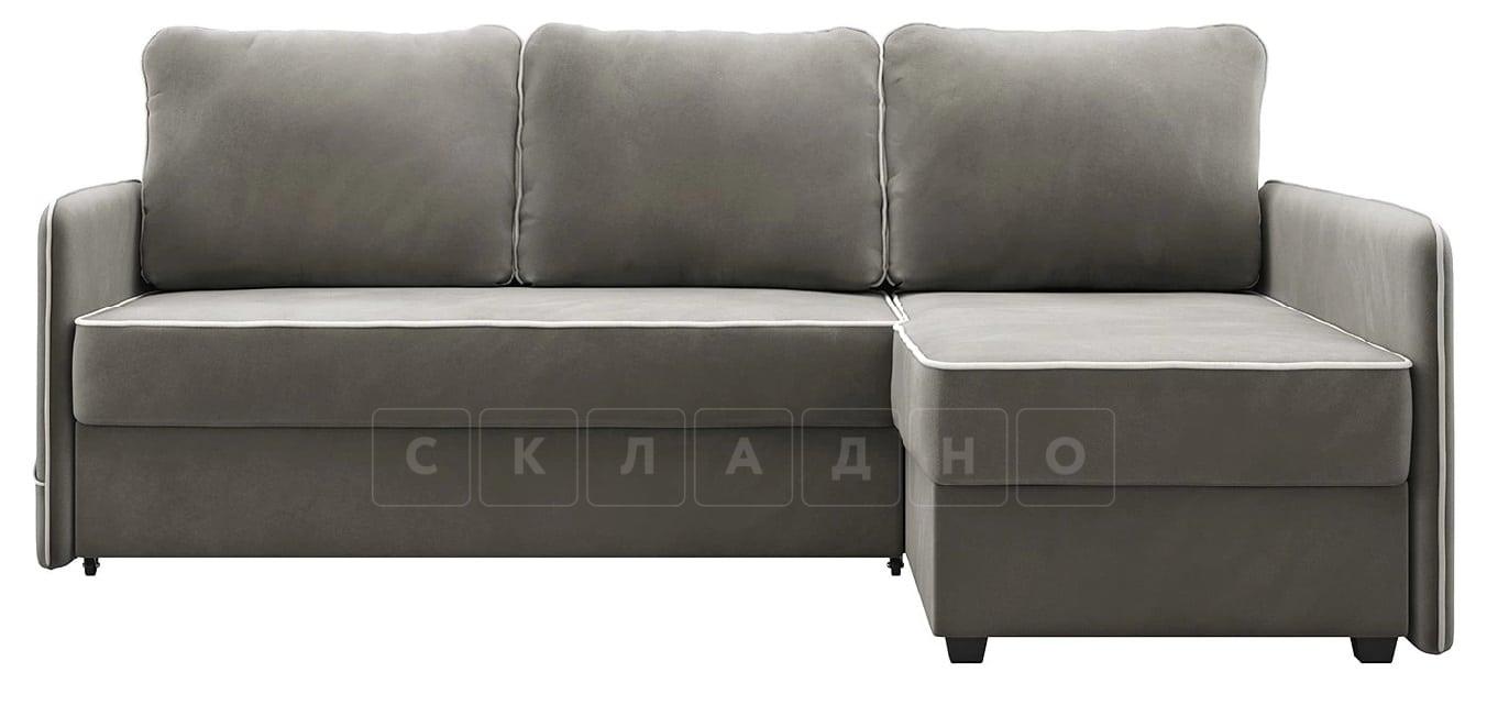 Диван угловой Слим темно-серый правый фото 4 | интернет-магазин Складно