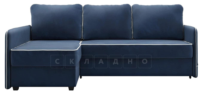Диван угловой Слим темно-синий левый фото 4 | интернет-магазин Складно