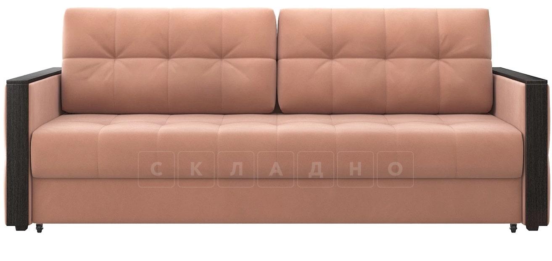 Диван еврокнижка Валенсия-1 розовый фото 2 | интернет-магазин Складно