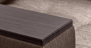 Кресло с подлокотниками Атланта рогожка коричневый 8490 рублей, фото 4 | интернет-магазин Складно