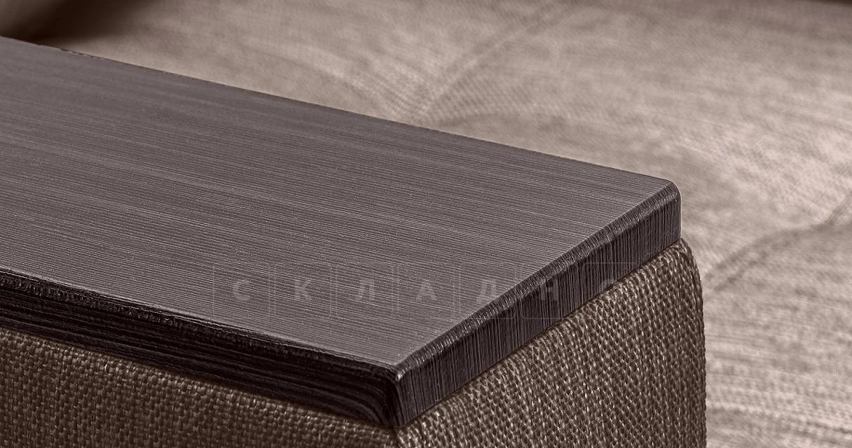 Кресло с подлокотниками Атланта рогожка коричневый фото 4 | интернет-магазин Складно