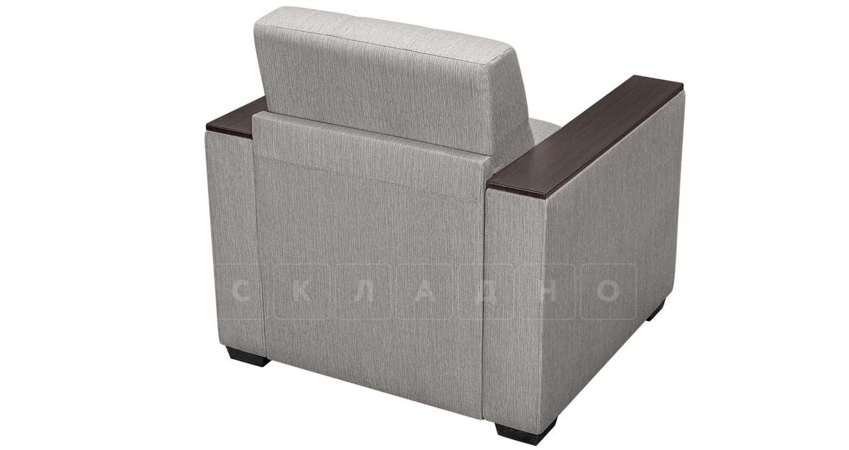 Кресло с подлокотниками Атланта рогожка серый фото 2 | интернет-магазин Складно