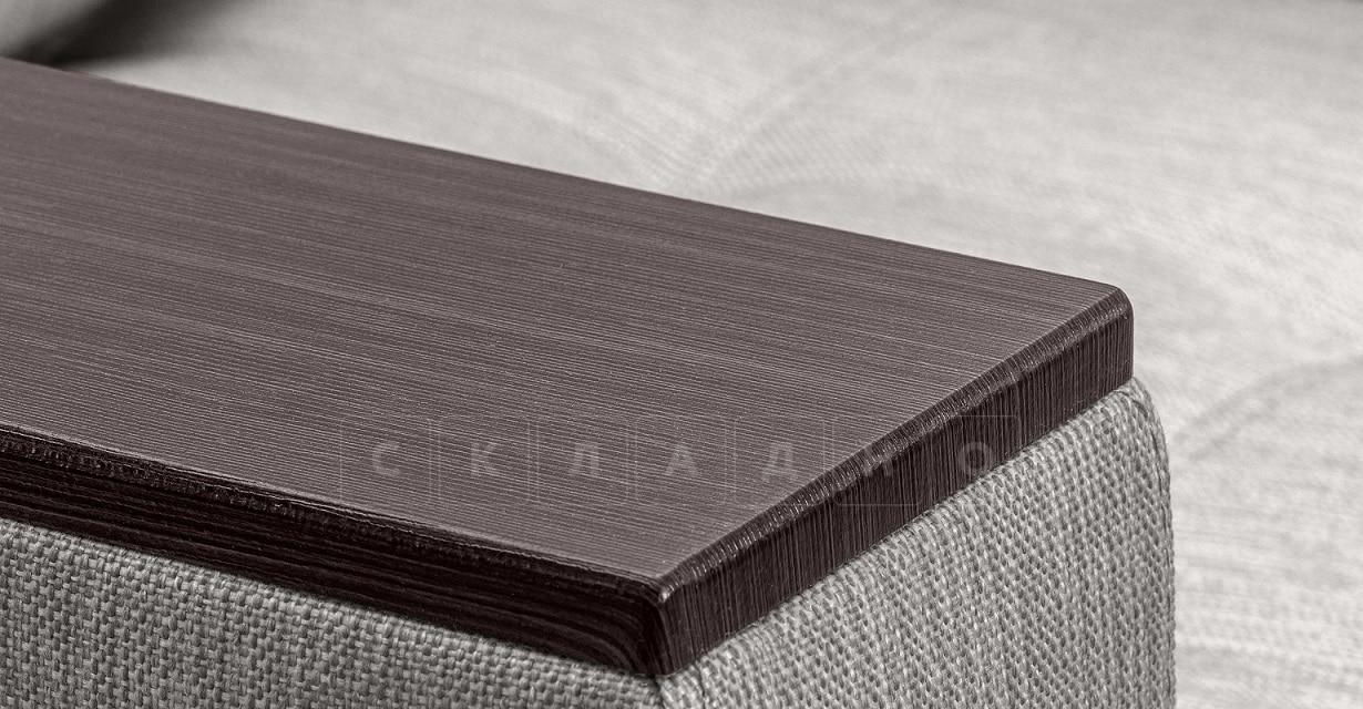 Кресло с подлокотниками Атланта рогожка серый фото 4 | интернет-магазин Складно