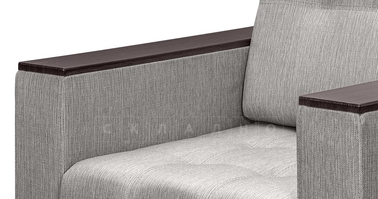 Кресло с подлокотниками Атланта рогожка серый фото 5 | интернет-магазин Складно