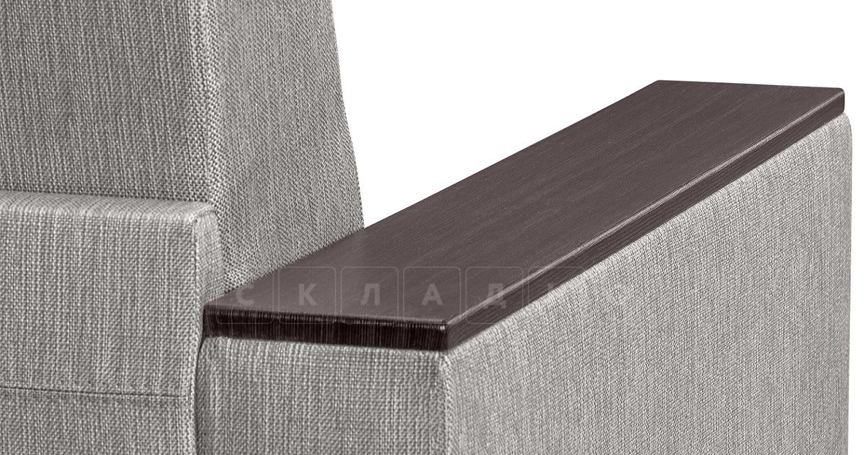 Кресло с подлокотниками Атланта рогожка серый фото 6 | интернет-магазин Складно
