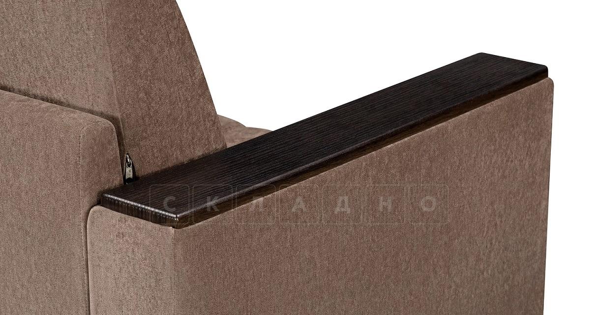 Кресло с подлокотниками Атланта вельвет коричневый фото 6   интернет-магазин Складно