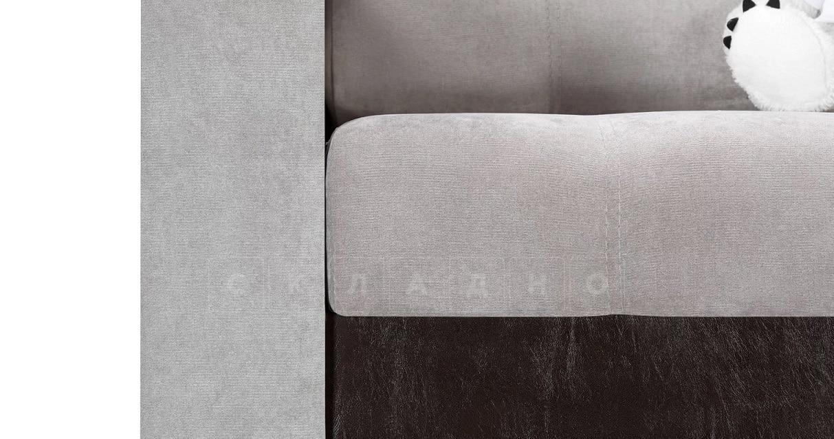 Кресло с подлокотниками Атланта велюр серый фото 5   интернет-магазин Складно