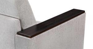 Кресло с подлокотниками Атланта велюр серый 9950 рублей, фото 6   интернет-магазин Складно