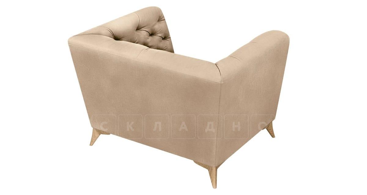 Кресло Честер на ножках бежевый фото 4 | интернет-магазин Складно