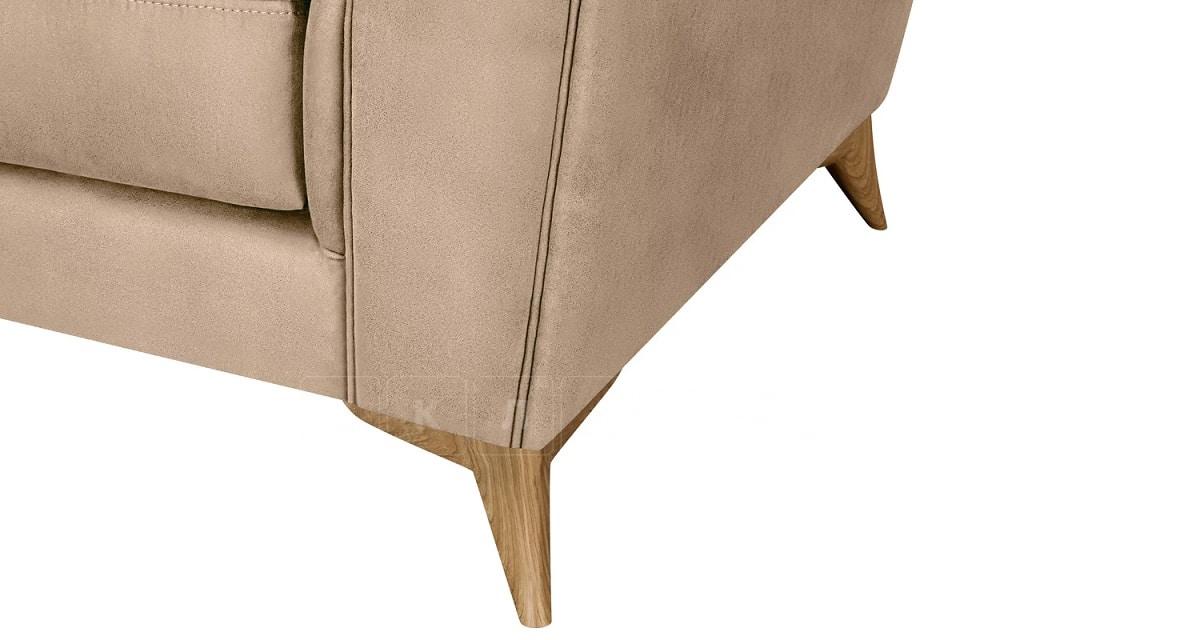 Кресло Честер на ножках бежевый фото 5 | интернет-магазин Складно