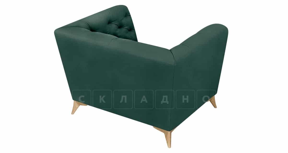 Кресло Честер на ножках изумрудный фото 4 | интернет-магазин Складно