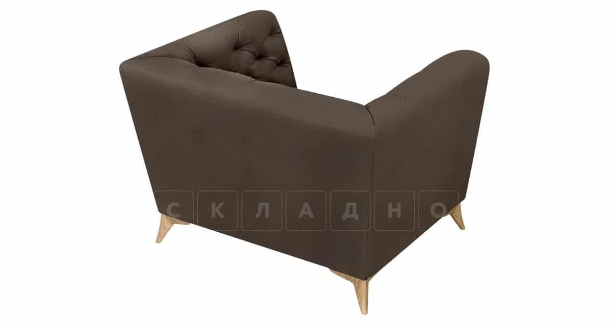 Кресло Честер на ножках коричневый фото 4 | интернет-магазин Складно