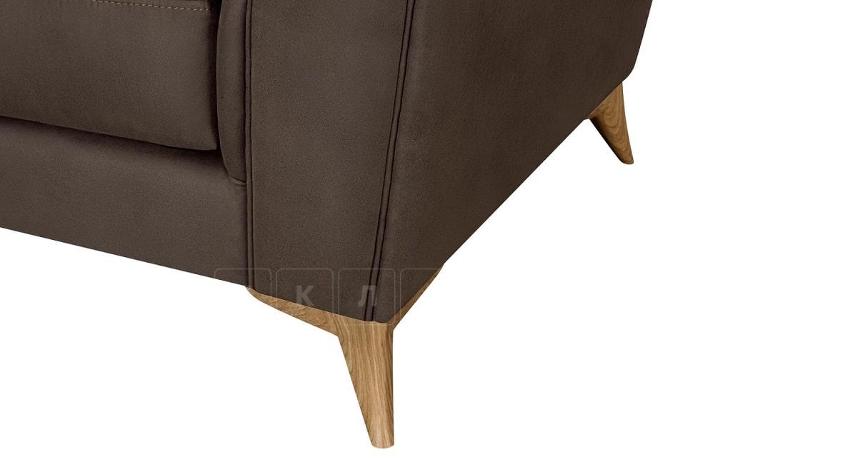 Кресло Честер на ножках коричневый фото 5 | интернет-магазин Складно