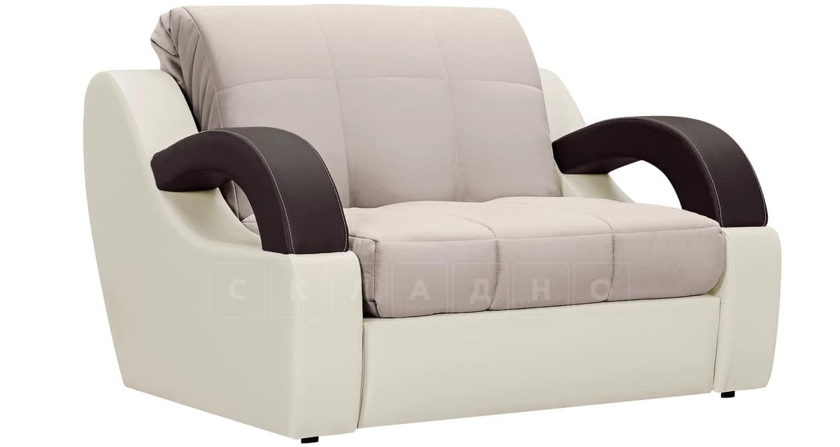 Кресло со спальным местом Мадрид бежевый фото 1 | интернет-магазин Складно