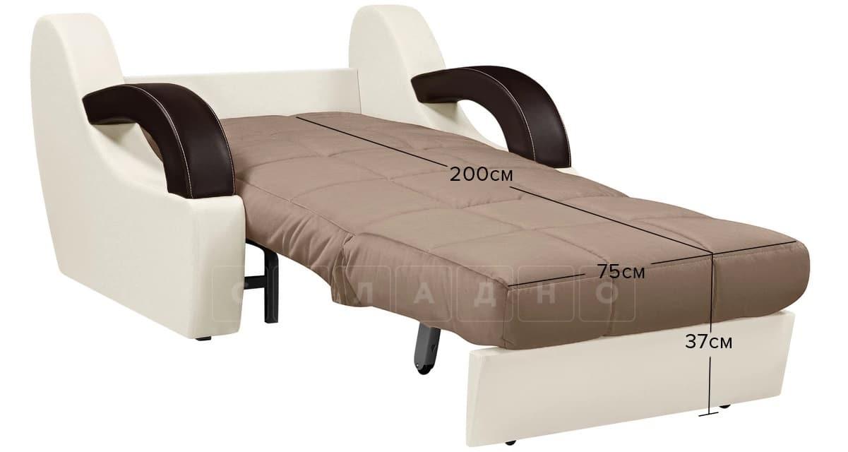 Кресло со спальным местом Мадрид коричневый фото 9 | интернет-магазин Складно