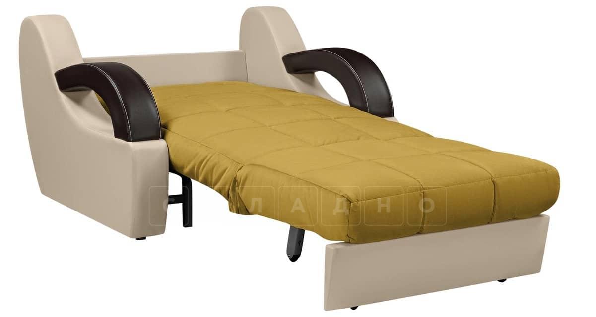 Кресло со спальным местом Мадрид оливковый фото 2 | интернет-магазин Складно