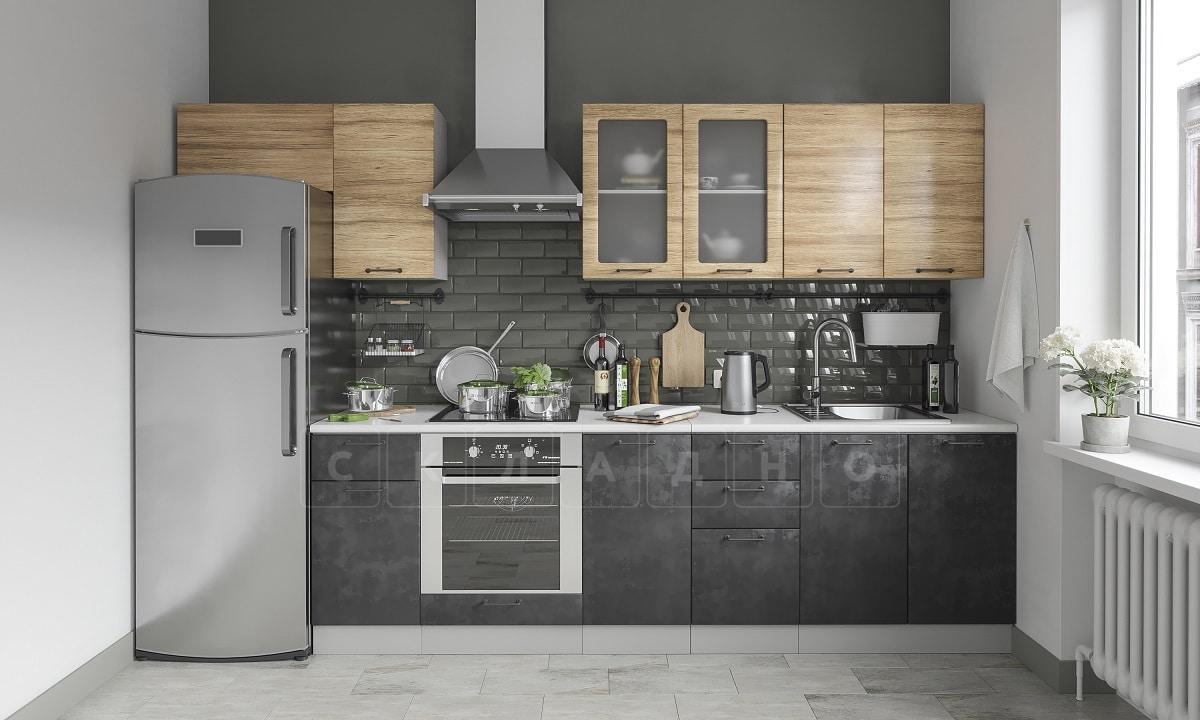 Кухонный навесной шкаф газовка со стеклом Шале ШВГС50 фото 4 | интернет-магазин Складно