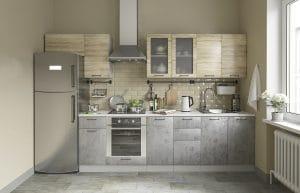 Кухонный навесной шкаф газовка со стеклом Шале ШВГС80 2570 рублей, фото 3 | интернет-магазин Складно