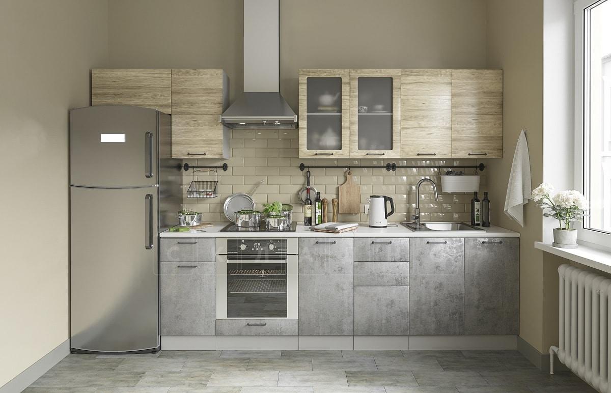 Кухонный навесной шкаф газовка со стеклом Шале ШВГС80 фото 3 | интернет-магазин Складно