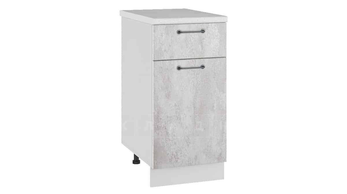 Кухонный шкаф напольный Шале ШН1Я40 с 1 ящиком фото 1 | интернет-магазин Складно