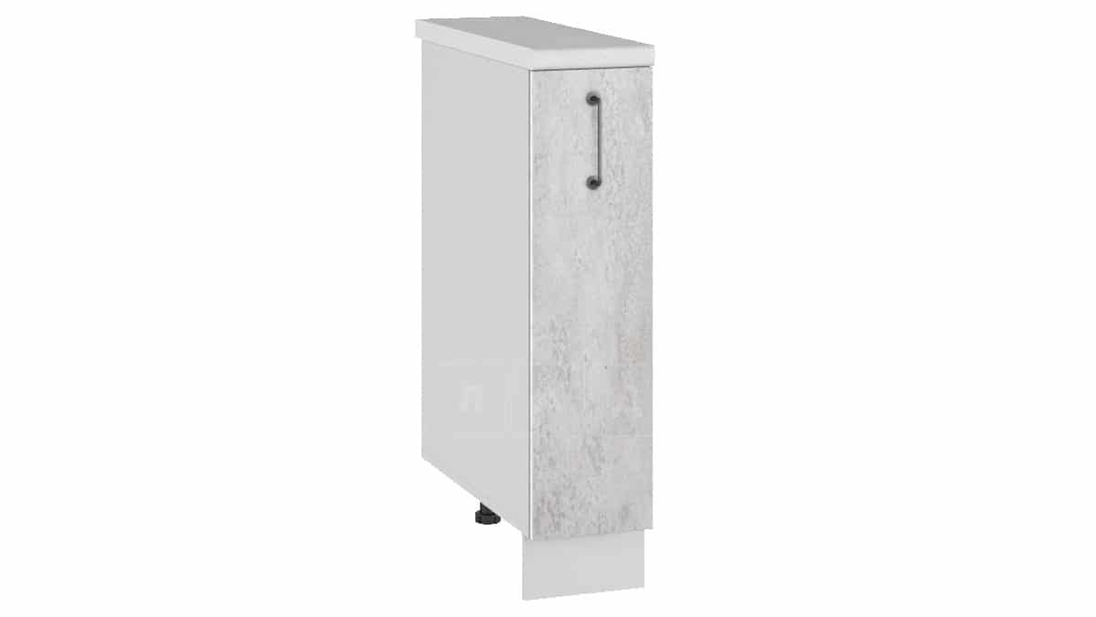 Кухонный шкаф напольный Шале ШН15 бутылочница фото 1 | интернет-магазин Складно