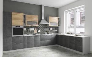 Кухня угловая Шале 340х260 см фото | интернет-магазин Складно