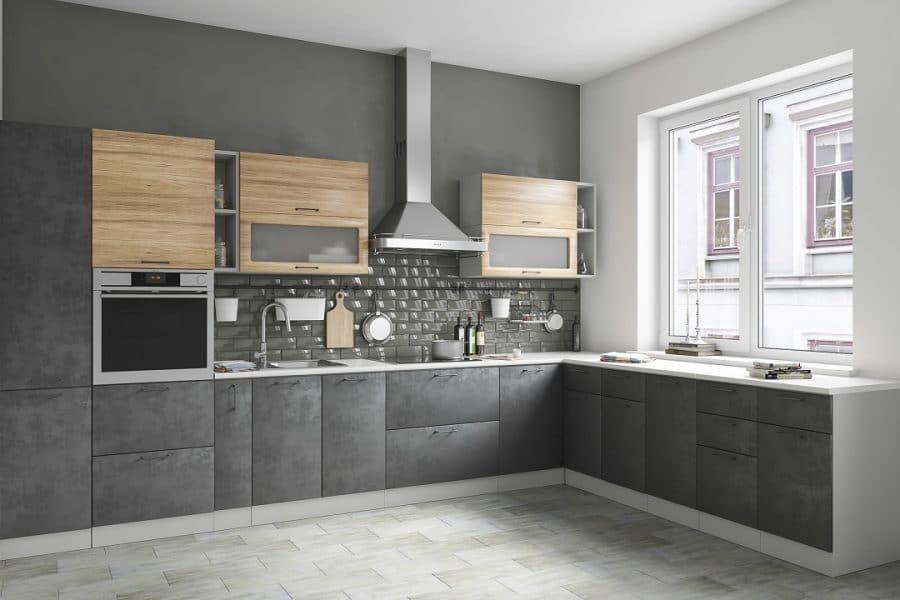 Кухня угловая Шале 340х260 см фото   интернет-магазин Складно