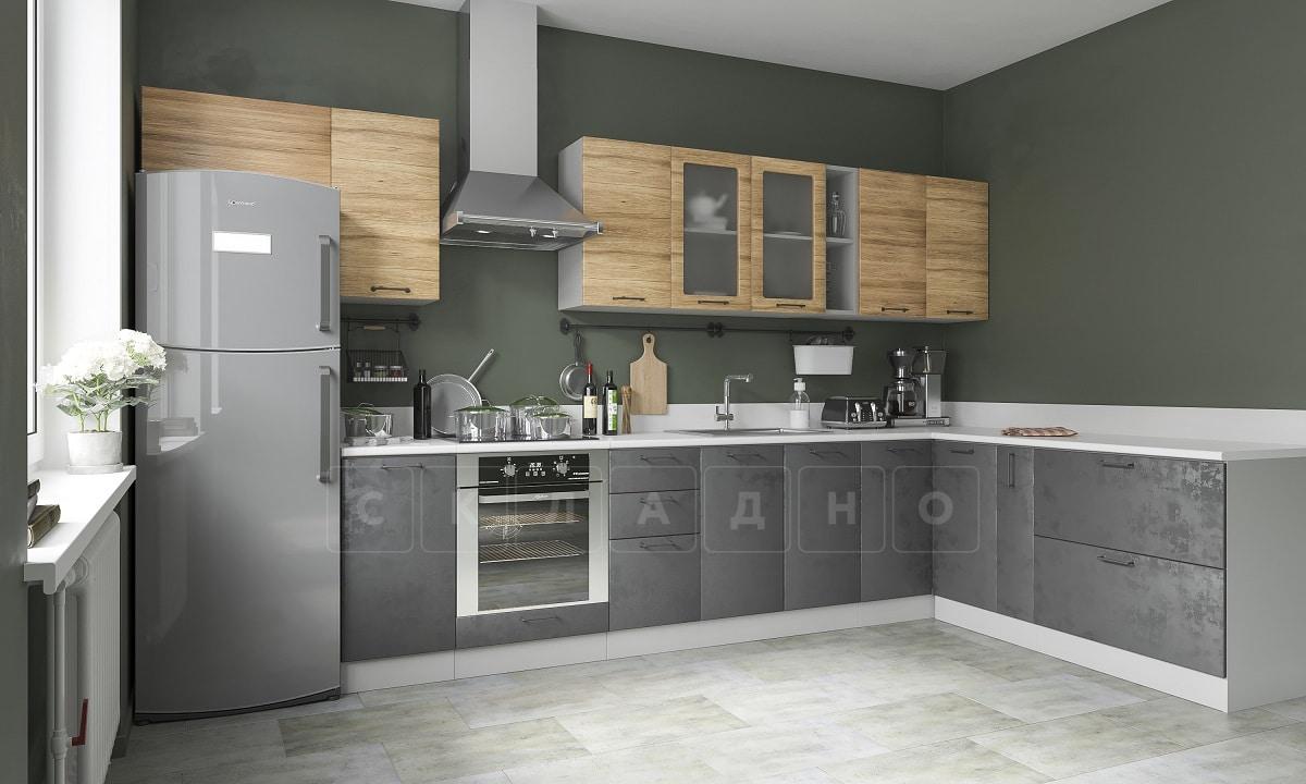 Кухня угловая Шале 380х200 см фото 1 | интернет-магазин Складно