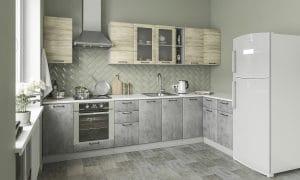 Кухня угловая Шале 320х140 см фото | интернет-магазин Складно