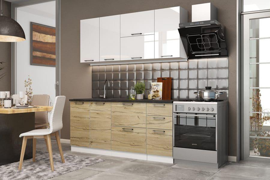 Кухонный гарнитур Даллас 1,8 м фото   интернет-магазин Складно