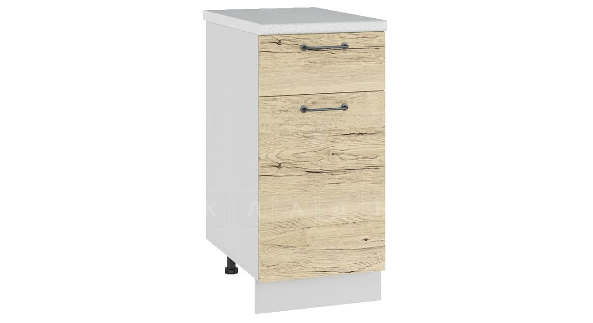 Кухонный шкаф напольный Даллас ШН1Я40 с 1 ящиком фото 1 | интернет-магазин Складно