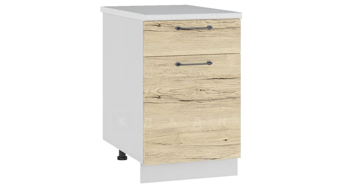 Кухонный шкаф напольный Даллас ШН1Я50 с 1 ящиком фото 1 | интернет-магазин Складно